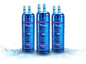 3X Refrigerator Water Filter for KitchenAid KSRG25FKSS17